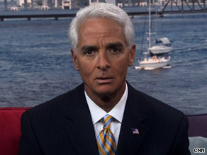 Florida Gov. Charlie Crist said he would return campaign contributions from people who had asked for it.