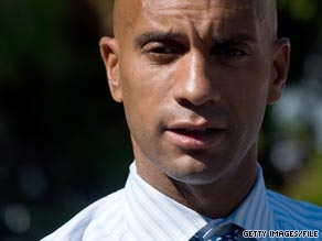 A new poll shows Washington D.C. Mayor Adrian Fenty trailing his Democratic challenger by 13 points.