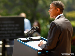 President Obama blasted Senate Republicans on Monday for blocking a small business assistance bill.