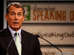 Ohio Rep. John Boehner would become the Speaker of the House if Republicans take control the lower chamber in November.