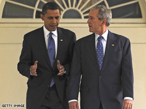 President Obama will not give credit to George W. Bush for the 2007 surge in Iraq.