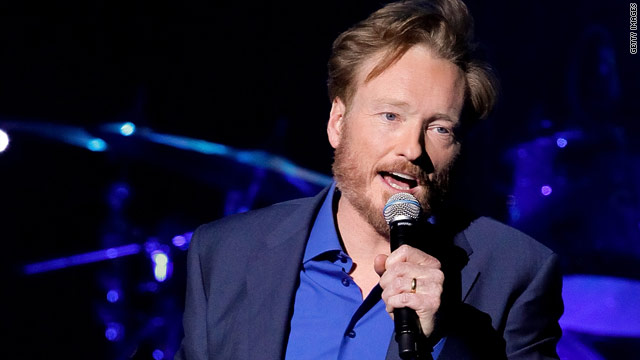 And the name of Conan O'Brien's new show is...