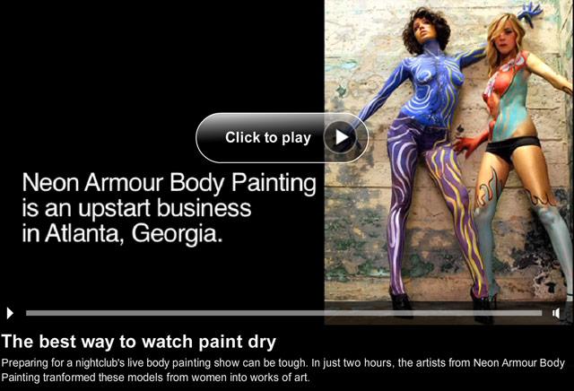 Body Art Puts Paint Next To Nothing Cnn Com