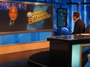 Columbia University Professor and Economist Joseph Stiglitz gives the Quest audience his view on the state of the economy.
