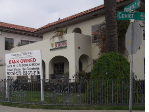 For sale and foreclosure signs in California
