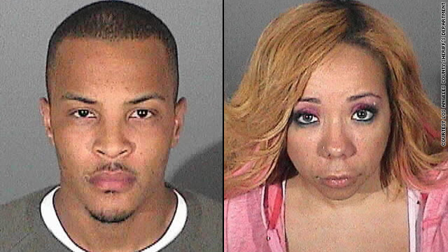 Police release T.I. and Tiny's mug shots