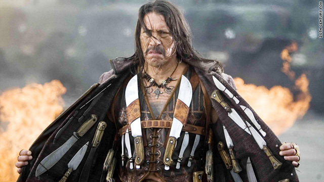 Who's seeing 'Machete' this weekend?