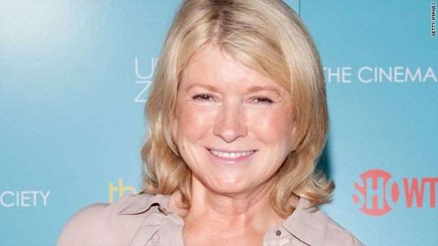 Martha Stewart wants to be the next Larry King