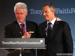 Former British Prime Minister Tony Blair writes in his new book about former President Bill Clintons curiosity. 