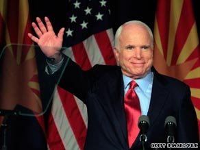  Arizona Sen. John McCain said on Sunday that hed like President Obama to visit the U.S.-Mexico border in Arizona. 