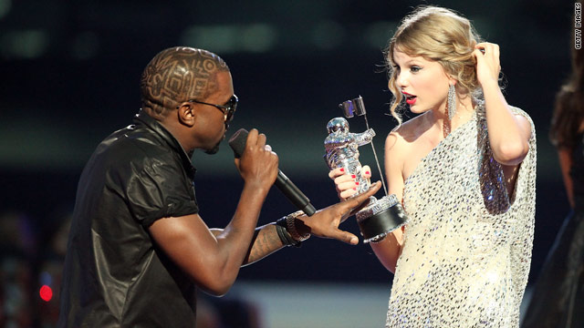 Kanye West: I'm sorry, Taylor