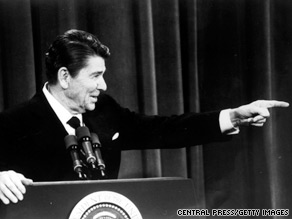 What do people forget about Ronald Reagan?