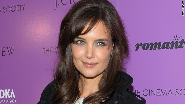 Katie Holmes on the The Romantics: It makes for a good film