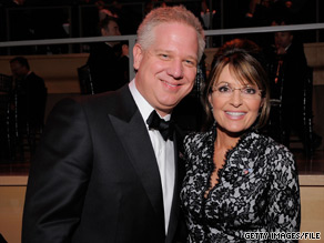 Sarah Palin and Glenn Beck will appear together at an event in Alaska on September 11.