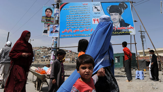 Turning the war's tide: What some Afghans think