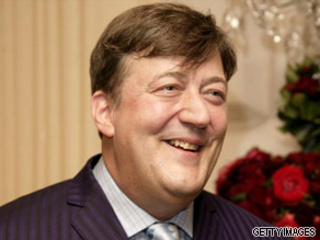 Stephen Fry is your Connector of the Day.