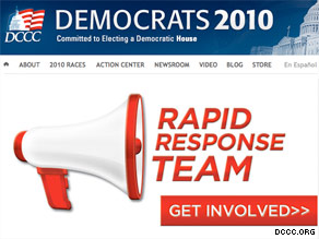 The DCCC launched a new web site Monday aimed at mobilizing Democratic voters.