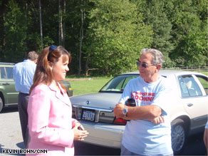 Christine O'Donnell's campaign called the Delaware GOP Party's last-minute attacks against her a sign of desperation.