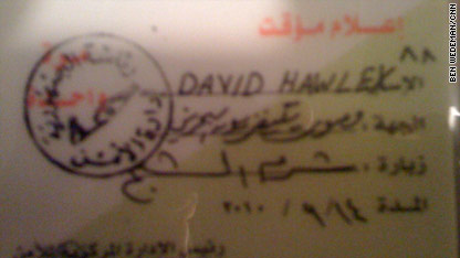 The 'David Hawley media pass' also changes Ben Wedeman's employer.