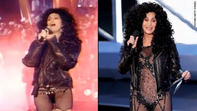 Cher 'turned back time' at VMAs