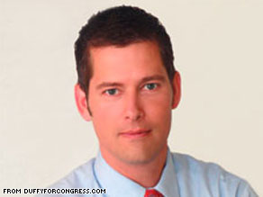 Sean Duffy, a former Real World cast member, will win the Wisconsin's 7th Congressional District, the AP projects.