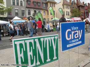 D.C. mayoral candidate Vincent Gray's request that voting time be extended due to reports of voting irregularities was denied.