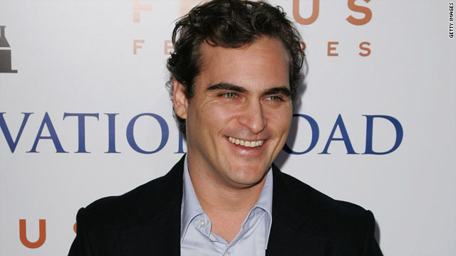 Joaquin Phoenix headed back to &#039;Letterman&#039;