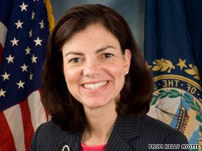 Kelly Ayotte has been declared the winner of New Hampshires GOP Senate primary.