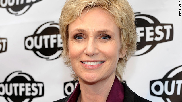 Ellen 'blazed the trail' for Jane Lynch to come out