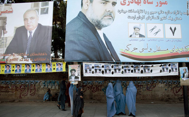 What you need to know about the Afghan elections