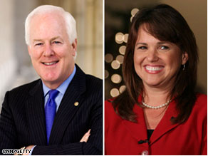 Sen. John Cornyn will meet with GOP Senate nominee Christine O'Donnell.