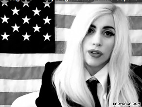  Pop singer Lady Gaga is headed to Main Monday.