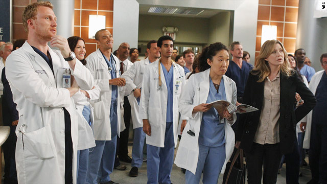 'Grey's' gets warning after Johns Hopkins shooting