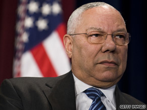 Powell leveled some criticism on President Obama Sunday.