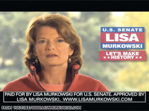 Sen. Lisa Murkowski is up with a new ad.