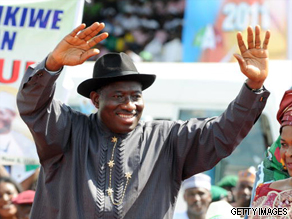 What do you want to ask Goodluck Jonathan?