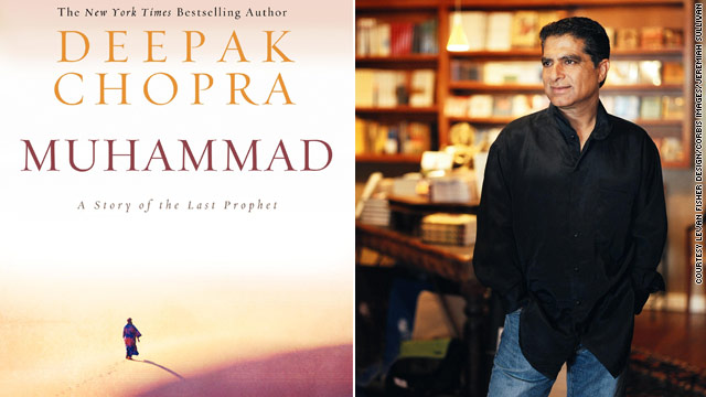 Deepak Chopra writes a novel on Muhammad