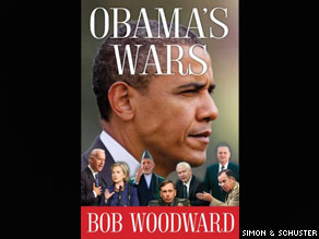 The cover art for Bob Woodward's latest book: 'Obama's Wars'