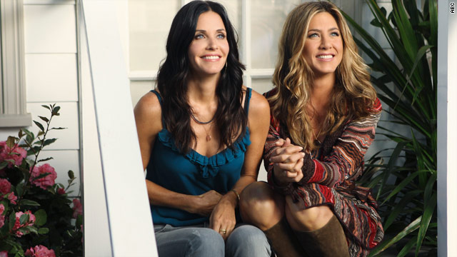What'd you think of Aniston on 'Cougar Town' last night?