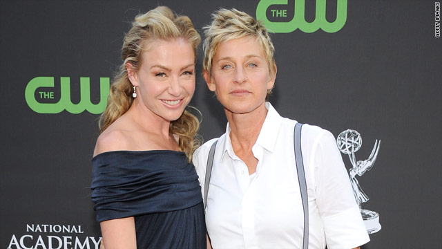 Introducing... Mrs. and Mrs. DeGeneres