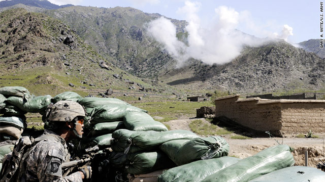 Photo Spotlight: Firefight in Kunar Province
