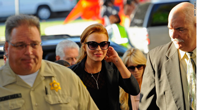 Lindsay Lohan heads back to jail