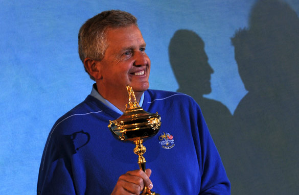 Colin Montgomerie has concerns over his players Tweeting during the Ryder Cup.