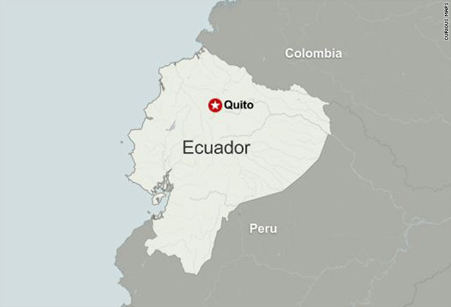 Ecuador declares emergency as police protest president is ecuador declares emergency as police protest president is attacked cnn gumiabroncs Choice Image