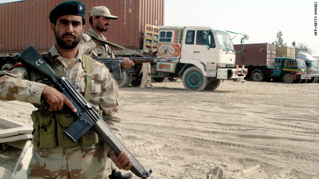 Pakistan bans NATO supply convoys after troop deaths