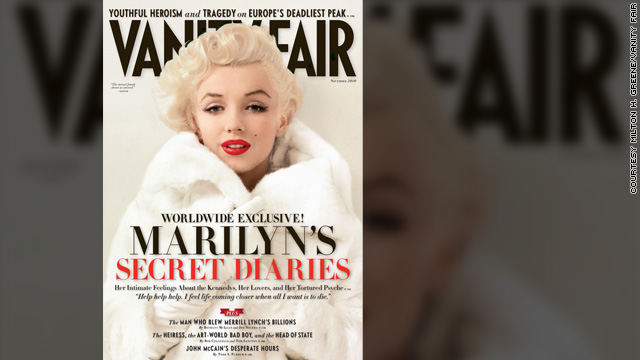 Secret diaries reveal details of Marilyn Monroe's life