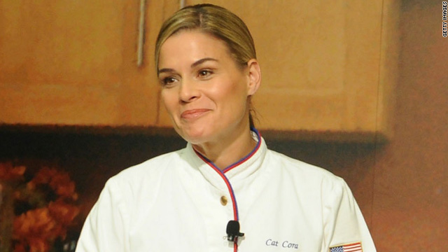 "Iron Chef Cat Cora: ""I was bullied"""