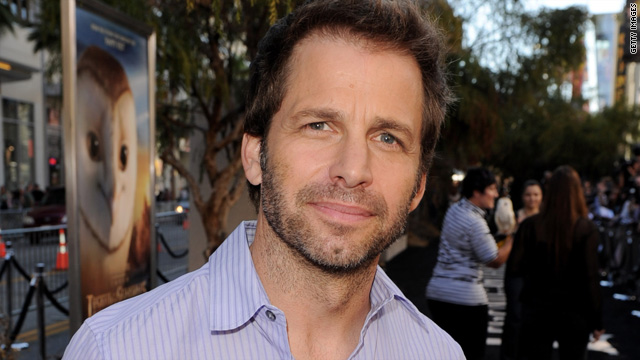 Zack Snyder tapped to direct &#039;Superman&#039;