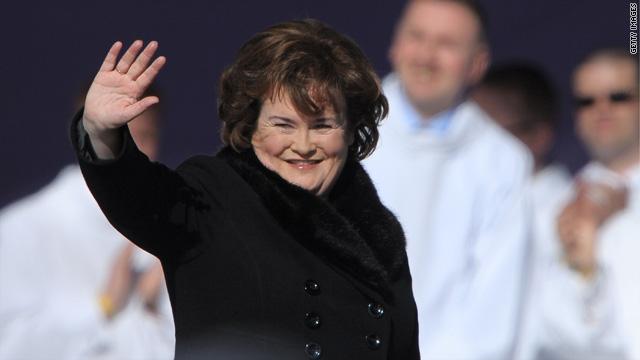 Susan Boyle cancels 'DWTS' performance