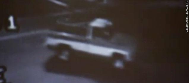 suspect's truck